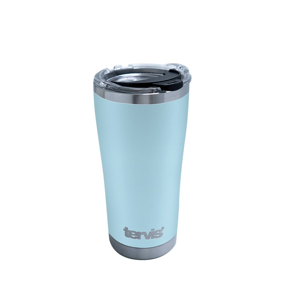 Reviews Tervis 20oz Powder Coated Stainless Steel Tumbler - Purist Blue