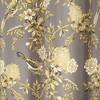 Set of 2 Farmhouse Bird and Flower Insulated Grommet Blackout Window Curtain Panels - Lush Décor - image 4 of 4