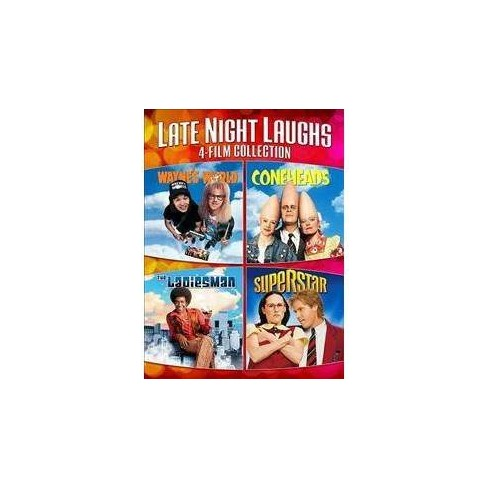 Late Night Laughs 4-Film Collection (Includes: Coneheads, Superstar, The Ladies Man (2000), Wayne's Movies - image 1 of 1
