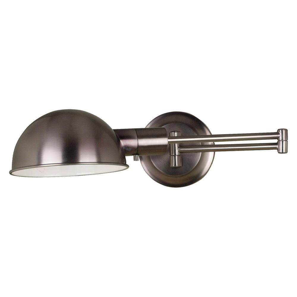 Image of Kenroy Frye Wall Swing Arm Lamp, Bronze