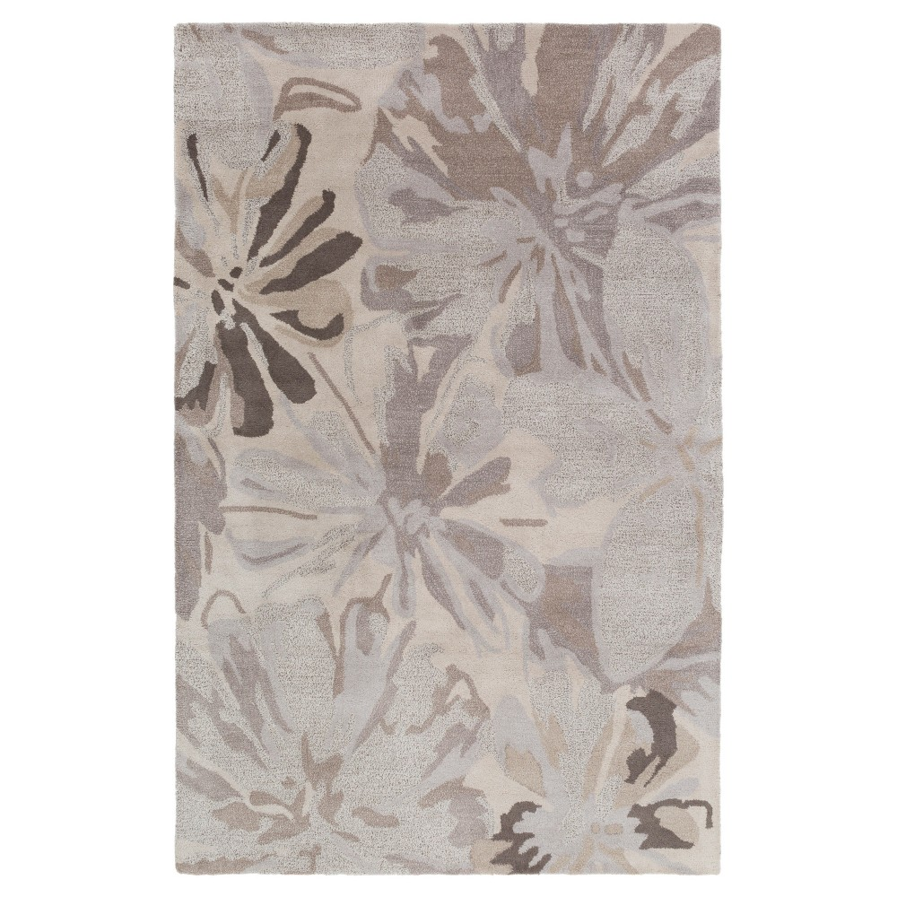Amaranthus Area Rug - Taupe (Brown), Light Gray - (7'6