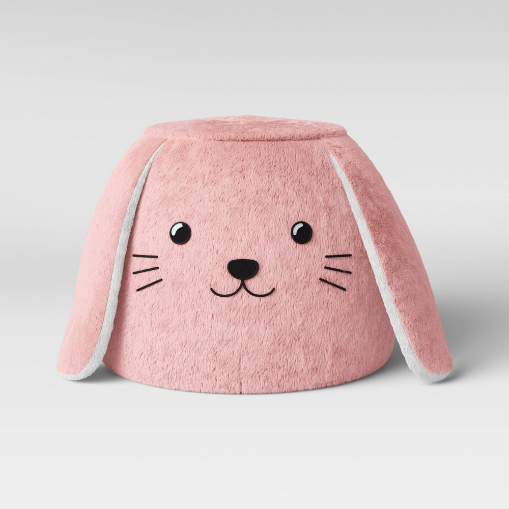 Image of Character Pouf Bunny - Pillowfort , Pink White