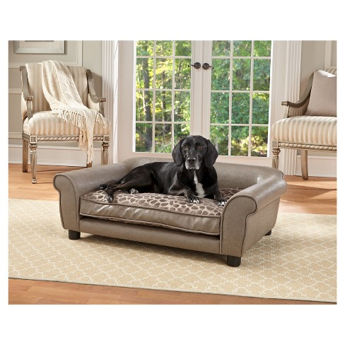 Enchanted Home Pet Rockwell Pet Sofa - L - Pewter - image 1 of 3