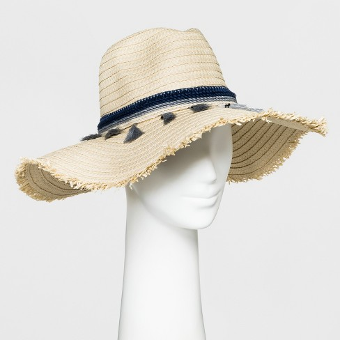 Women's Straw panama Hat - A New Day™ - image 1 of 1