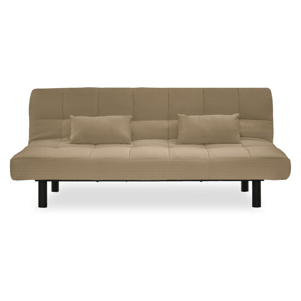 Carmel Outdoor Convertible Sofa Sand - Serta, Sand Stone