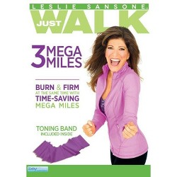 Leslie Sansone: 3 Mega Miles (DVD)