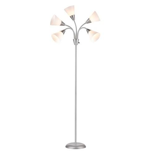 5 Head Floor Lamp Includes Energy