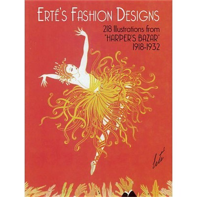 Erté's Fashion Designs - (Dover Fine Art, History of Art) by  Erte (Paperback)