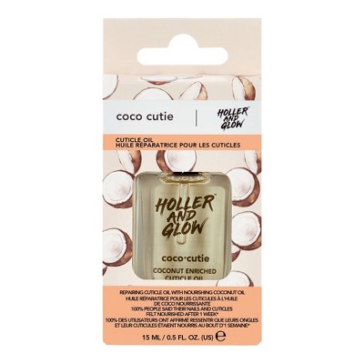 Holler and Glow Coco Cutie Coconut Enriched Cuticle Oil - 0.5 fl oz