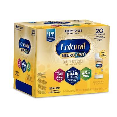 Enfamil NeuroPro Infant Formula Ready to Use Bottles - 6ct/2 fl oz Each