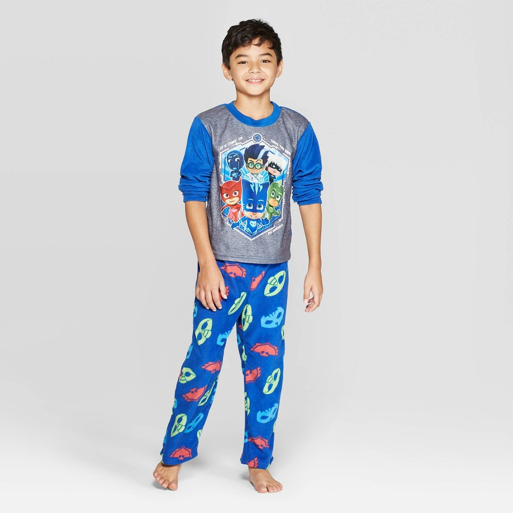 Image of Boys' PJ Masks 2pc Pajama Set - Blue 10, Boy's