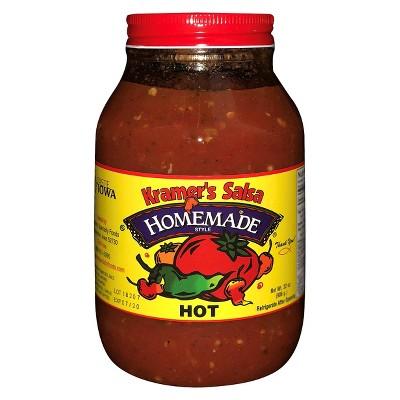 Kramer's Hot Salsa - 32 fl oz Jar