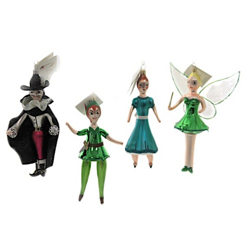 Laved Italian Ornaments Peter Pan Tinker Bell Wendy Captain Hook  -  Tree Ornaments - image 1 of 4