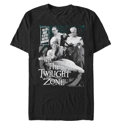 Men's The Twilight Zone Welcome Collage T-Shirt