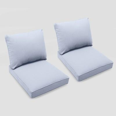 Bar Harbor 2pk Club Chair Cushions - Threshold™
