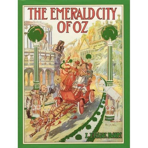 The Emerald City of Oz - (Books of Wonder) by  L Frank Baum (Hardcover) - image 1 of 1