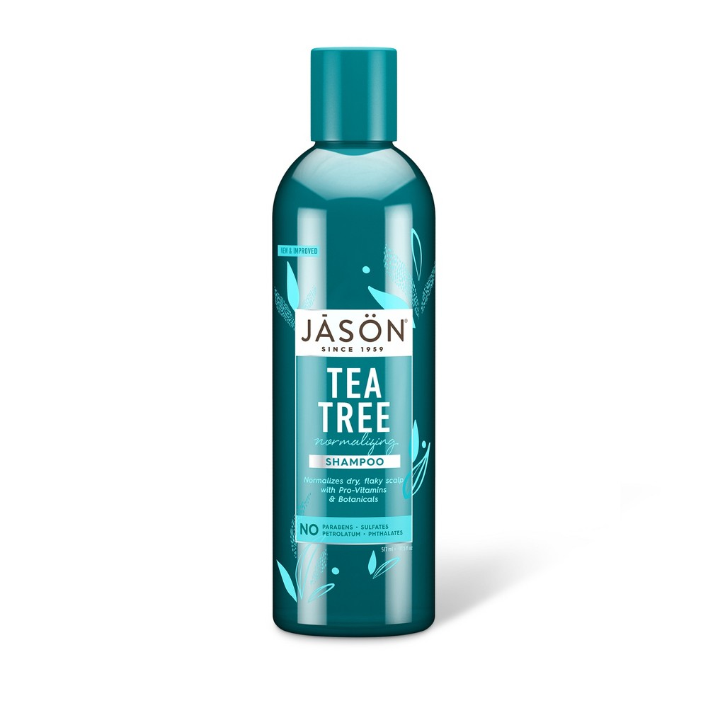 Image of Jason Normalizing Tea Tree Treatment Shampoo - 17.5 fl oz