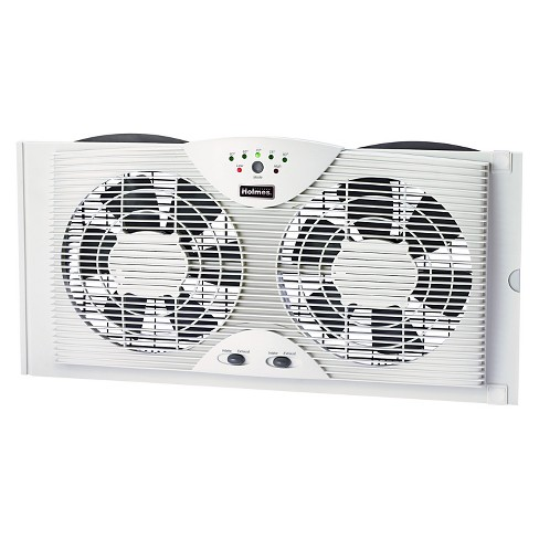 Digital Window Fan White - Holmes - image 1 of 4