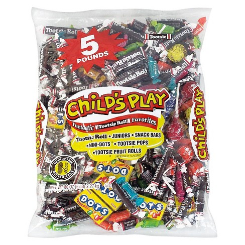 Tootsie Roll Child's Play Assorted Candy Variety Bag - 80oz - image 1 of 1