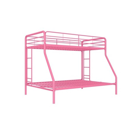 Twin Over Full Bunk Bed Pink Dorel Home Products Target