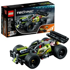 LEGO Technic WHACK! STEM Stunt Racing Toy Car Building Kit for Creative Play 42072