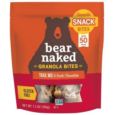 Bear Naked Granola Bites Trail Mix & Dark Chocolate - 7.2oz