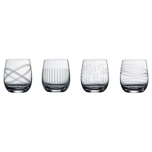 Royal Doulton Party 12oz Double Old-Fashioned Glasses - Set of 4 - image 1 of 1