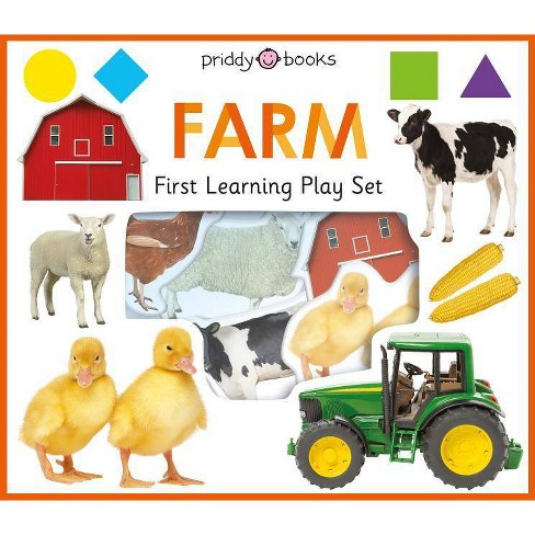 First Learning Play Set: Farm - (First Learning Play Sets) by  Roger Priddy (Board_book) - image 1 of 1