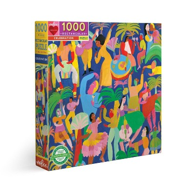 eeBoo Piece and Love: Celebration Jigsaw Puzzle - 1000pc