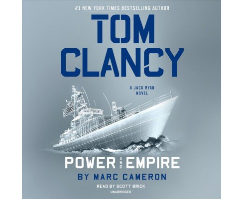 Tom Clancy Power and Empire -  Unabridged (Jack Ryan) by Marc Cameron (CD/Spoken Word) - image 1 of 1