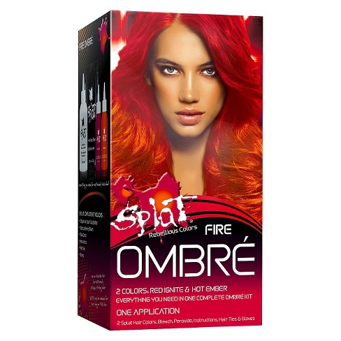 Splat Ombre Fire Hair Bleach and Color kit - 5.2oz - image 1 of 4