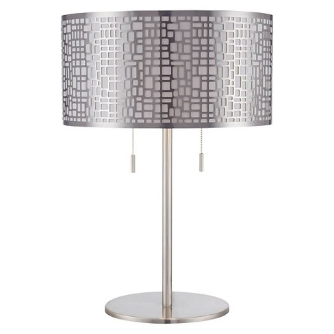 Lite Source Torre 2 Light Table Lamp - Polished Steel - image 1 of 2