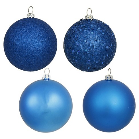about this item - Light Blue Christmas Ornaments
