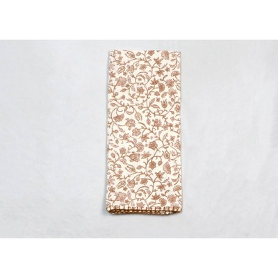 Cotton Floral Kitchen Towel Pink - Threshold™