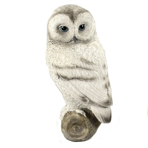 "Animal 11.0"" Snow Owl Figurine Wisdon Bird Roman, Inc  -  Decorative Figurines - image 1 of 3"
