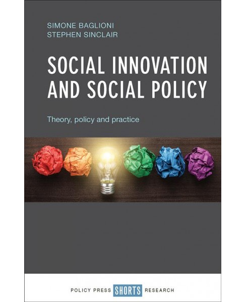 Social Innovation and Social Policy : Theory, Policy and Practice -  (Paperback) - image 1 of 1