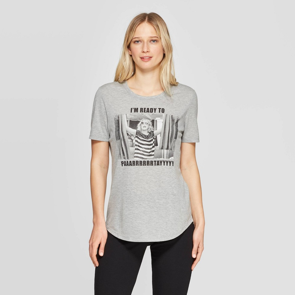 Women's Universal Bridesmaids Party Sleep T-Shirt - Gray XS