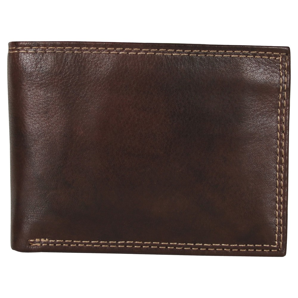 Image of Buxton Men's Hunt Credit Card Billfold Wallet - Brown, Men's, Size: Small