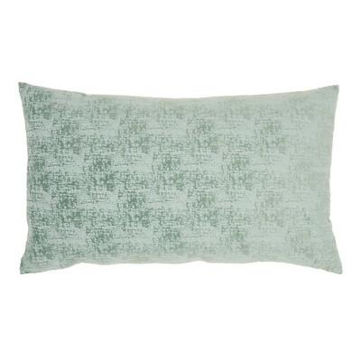 Life Styles Erased Velvet Throw Pillow - Mina Victory