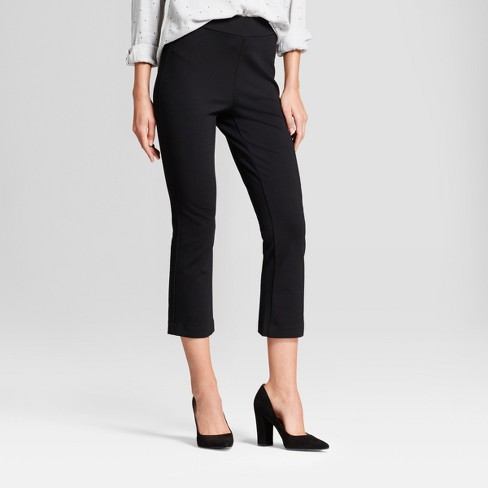 Women's Kick Flare Ponte Pants - A New Day™ - image 1 of 3