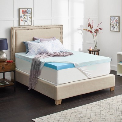"Sealy ChillZone 3"" Gel Memory Foam Mattress Topper with Cover"