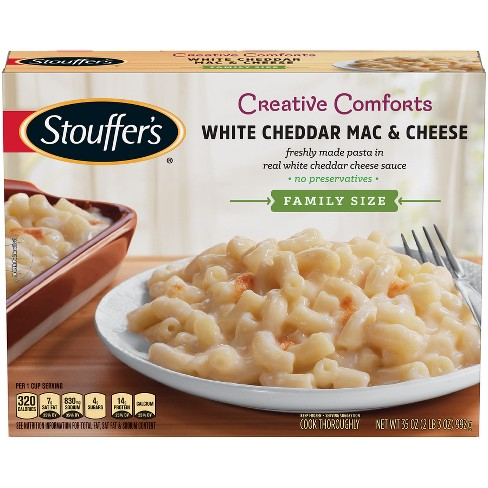 Stouffer's Cheddar Frozen Mac & Cheese - 35oz - image 1 of 6