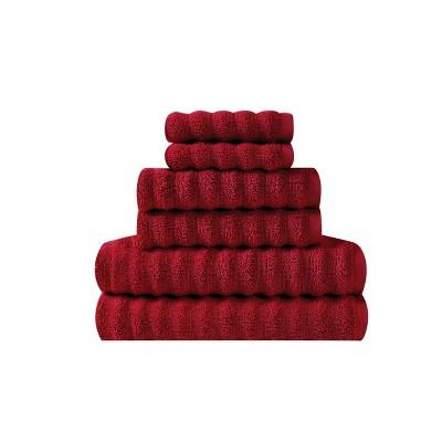 6pc 100% Cotton Zero Twist Bath Towel Set - Sean John