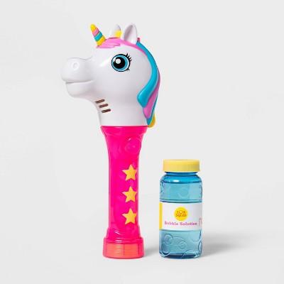 Unicorn Light-Up Bubble Wand Pink - Sun Squad™
