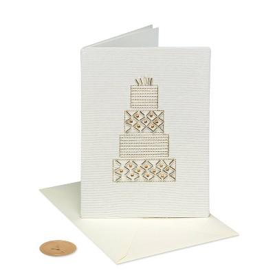 Wedding Cake Card - PAPYRUS