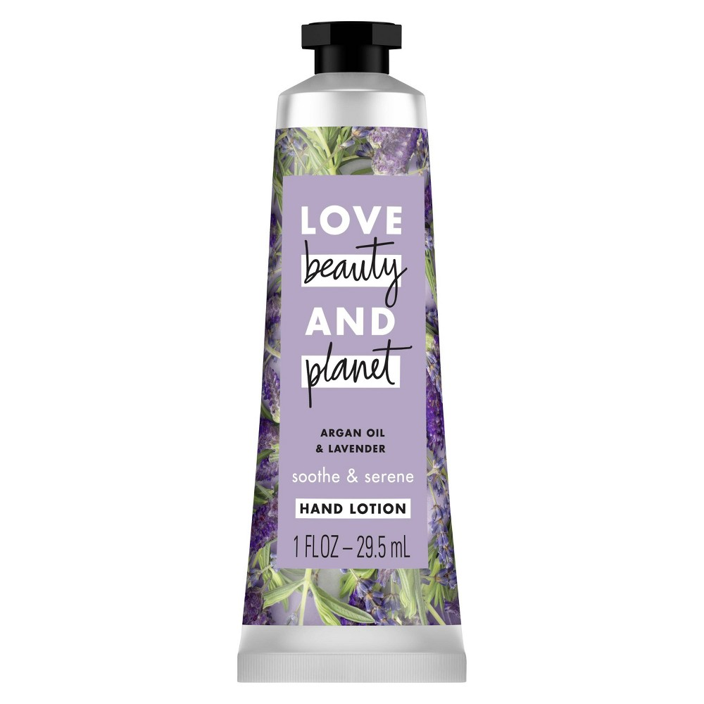 Image of Love Beauty And Planet Coconut Argon Oil & Lavender Hand Lotion - 1 fl oz