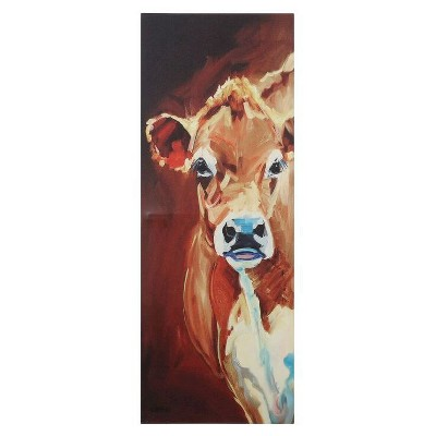 Cow Canvas Wall Décor - 3R Studios