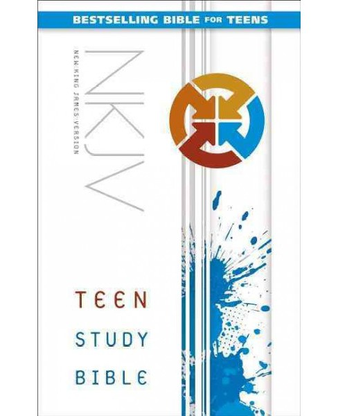Teen Study Bible : New King James Version (Hardcover) - image 1 of 1