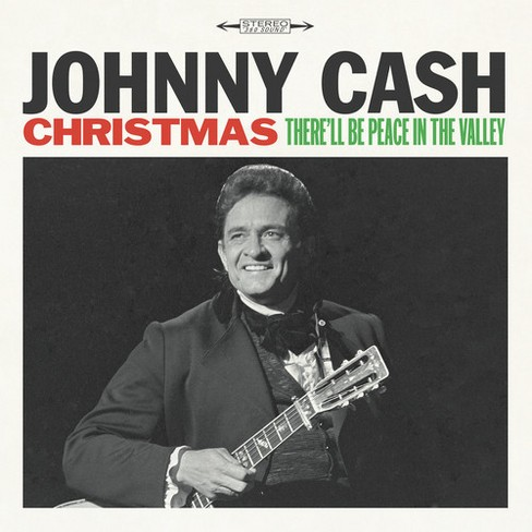 Johnny Cash - Christmas:There'll Be Peace In The Va (Vinyl) - image 1 of 1