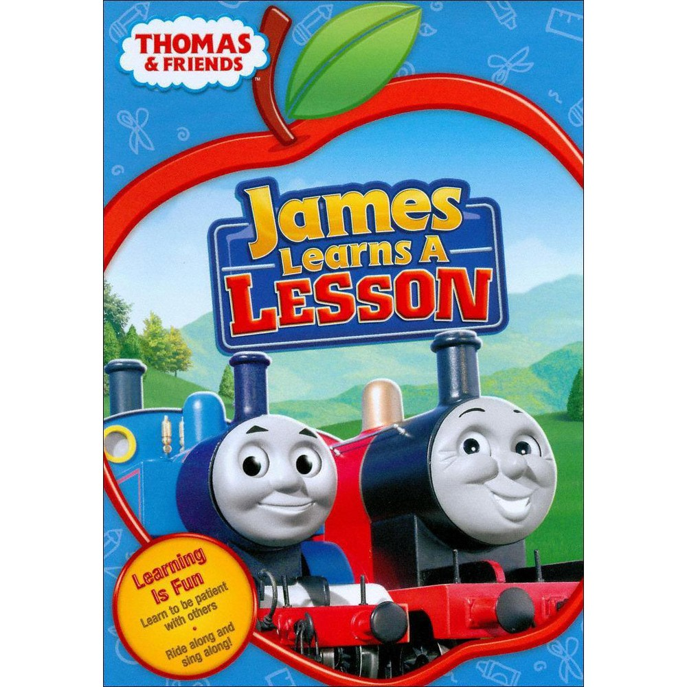 Thomas & Friends: James Learns a Lesson (dvd_video)